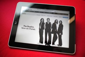 The iPad is closely connected to Apple's music service, iTunes.