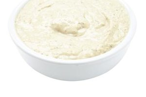 Hummus is a good source of both zinc and B-6.
