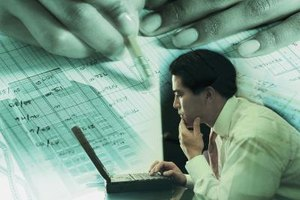 Forensic accountants look for trouble within massive financial records.