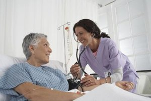 Surgical nurse practitioners care for a patient's physical and emotional needs before and after surgery.