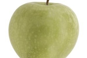 Granny Smith apples are available year-round.