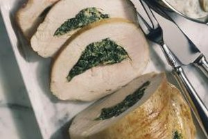 Serve your family a tender turkey breast that is thawed safely.