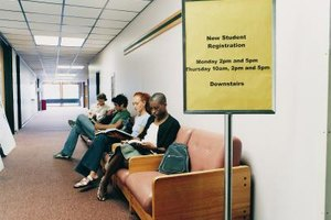A registrar enrolls new students and verifies students for graduation.