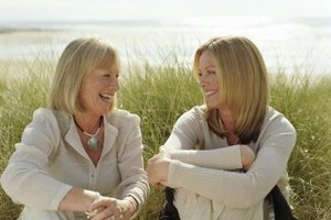 Ice breaker questions can help mothers and daughters begin difficult conversations.