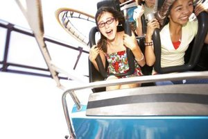 Kids love a thrill ride.
