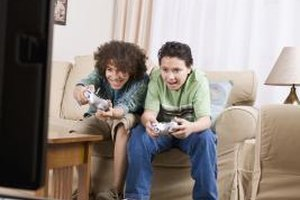 Playing video games can have benefits for your children.