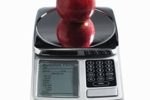 A digital scale is easy to read, so incorporate its use into your weighing activities.