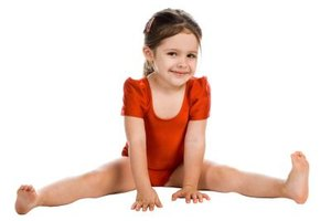 Your gymnast can show off her moves if you have her party at a gymastics facility.