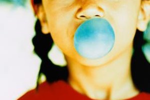Bubble gum experiments also give kids the chance to enjoy a treat.