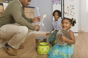 Creative activities engage preschoolers' attention.