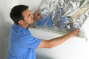 Installing insulation lowers a homeowner's energy bill.
