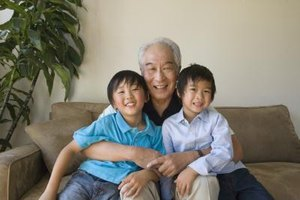 Speaking a family's native language at home might help children communicate with their grandparents.