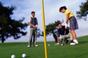 Kids can take golf lessons at White Deer Run Golf Club in Vernon Hills.