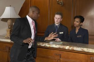 Front desk clerks make first and often lasting impressions on guests.