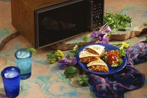 Quesadillas are a tasty dish you can make in the microwave.