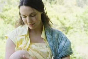 A baby sling reduces wrist pain from carrying your baby.