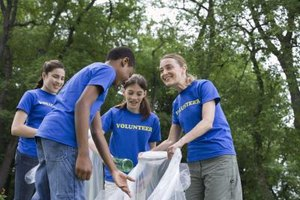 Early participation in charity and volunteer work teaches your child to develop a service-orientation toward others.