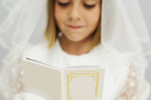 How to Make a First Communion Veil