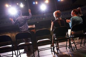 Dramatic readings combine public speaking with the drama of performance.