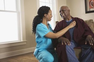 Slow down and work with a single patient in a home setting.