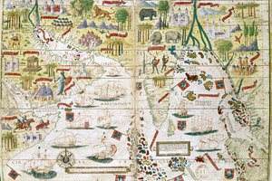 By the 1600s What Were the Portuguese Trading?