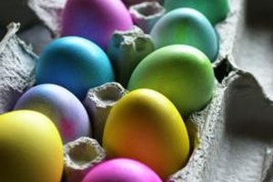 Make Easter eggs that tell the story of Christ's resurrection.