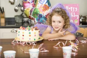 Diabetic children need to watch what they eat, even at a birthday party.