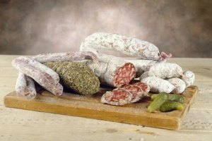 Cured meats, particularly salami, are a specialty of Italy.