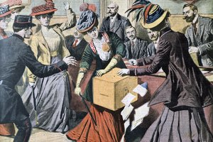 What Caused a Split in the Women's Suffrage Campaign?