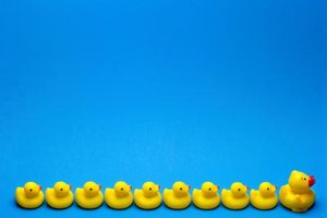 Keep your duck army on display while they await their next mission.
