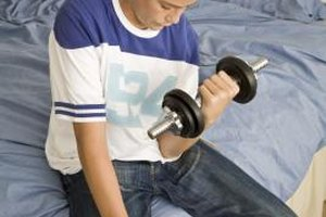 Dumbbells are a tool for teens of all ages and fitness levels.