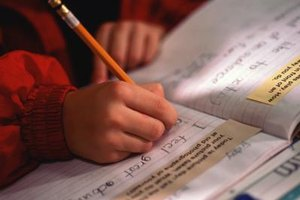 Handwriting can be a difficult and stressful task for many autistic children.