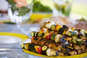 Serve grilled veggies hot or at room temperature.