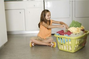 Chores can be used as discipline or as the daily routine.