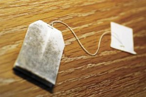 Give your clothing or drapes a deep, aged appearance with tea bags.