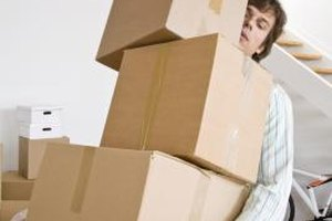 Boxes may seem like clutter to you, but they can make life easier for another person.