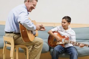 Administrators of music therapy programs at schools or hospitals earn the Ph.D.