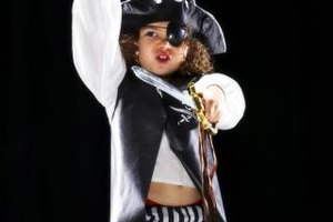 Dress up like a pirate and search for buried treasure.