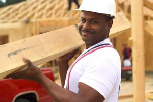 Carpentry laborers work with carpenters and clean up construction sites.