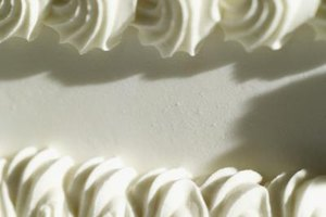 Whipped icing cannot hold intricate border details like buttercream.
