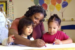 Day care improves cognitive and social development.