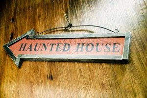 You'll find haunted houses in and around Fort Worth.