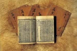 Confucianists revere a quartet of ancient texts, known simply as the Four Books.