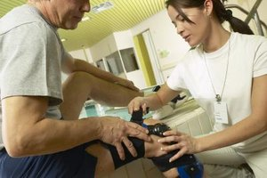 Physical therapy assistants help people who are injured regain their strength.