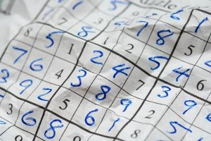 Children's sudoku puzzles explore algorithms and sequencing.