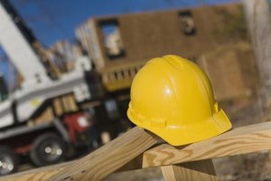 Most construction workers learn their trade on the job.