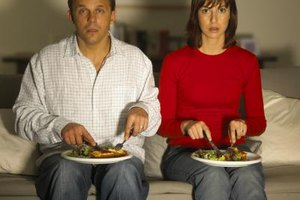 Dates can be more exciting than eating in front of the TV.
