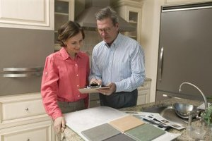 Apply for a home equity line of credit to kitchen remodel.