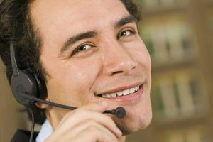 Telesales executives develop relationships with customers to build repeat sales.