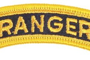 Two months of stressful training are necessary to earn the Ranger tab.